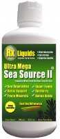 Ultra Mega Sea Source II Sea Vegetable Liquid Vitamin Supplement