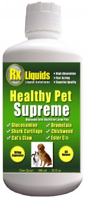 Healthy Pet Supreme Glucosamine for Dogs Plus