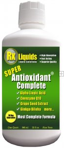 Super Antioxidant Complete Natural Antioxidant Supplement