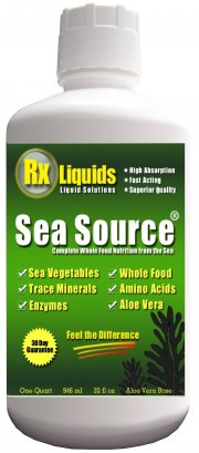 Sea Source Sea Vegetable Liquid Vitamin and Mineral